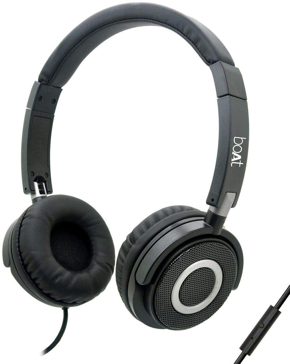 256593d74a6 (Back Again) boAt BassHeads Headphones with Mic In Just Rs.599
