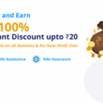 Niki Recharge Offer - Get Free Recharge/Bill/DTH | 100% Discount