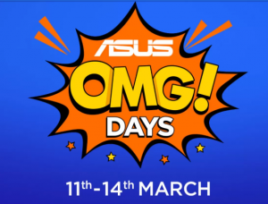 Asus OMG Days - Get Asus Smartphones in Lowest Price + Huge Exchange Offer
