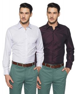 Diverse Men's Fit Shirts (Pack Of 2) In Just ₹479