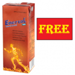 Get Free Sample of Enerzal Energy Drink @Home
