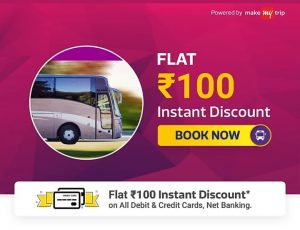 Flipkart Bus Ticket Offer - Get Rs.100 Off on No Minimum Order