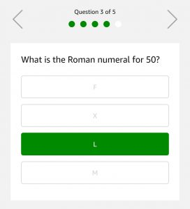 (15th March)Amazon Quiz Time - Answer & Win Rs.75000