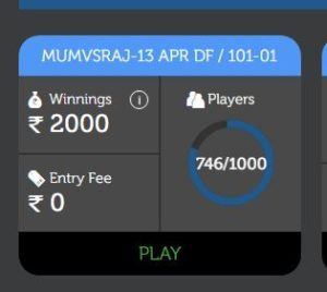 LivePools Fantasy App - Play Leagues at Rs.0 and Win Rs.2000+
