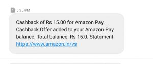 Get Free Rs.50 or Rs.15 Free Amazon Pay Balance