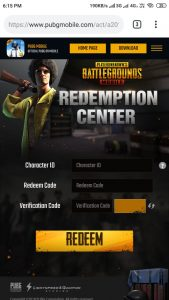 Get Free One Premium Create From PUBG (Get Code Inside)