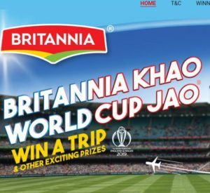 Britannia WorldCup Challenge - Get Free Rs.35 Free Recharge/PayTM Cash
