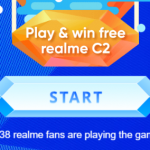"Get Free Realme C2 from ""Catch the Diamonds"" Game"