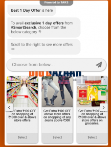 (Loot) Get Free Big Bazaar Coupon from Big Bazaar Smart Search Chat