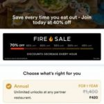 Get Zomato Gold Membership Of 1 Year in Just ₹420 (Worth Rs.1400)