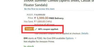 (COMBO LOOT) Sports Shoes, Casual Shoes and Floater Sandals in Just Rs.299