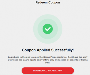 (Loot Lo) Get Gaana+ Premium Subscription Free | All Users