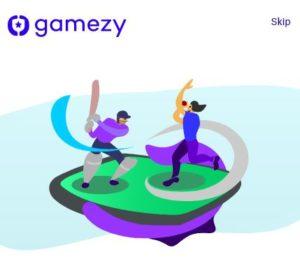 Gamezy App- ₹150 on Signup +₹100/Refer   Fantasy App