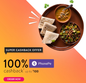 Get Food worth Rs.200 Free from Eat.fit with PhonePe