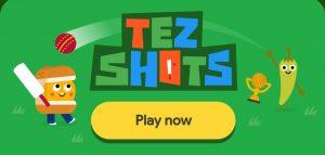 Google Tez Shot Game