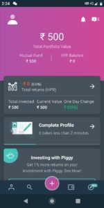 Get Free Mutual Fund Worth Rs.500 from Piggy App (Rs.100/Refer)