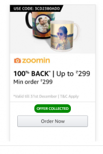 Amazon Zoomin Offer
