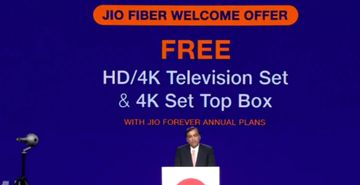 Jio Fiber Welcome Offer - All You need to Know | Plans, Price and Free 4K TV