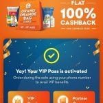 Grofers Free VIP Pass