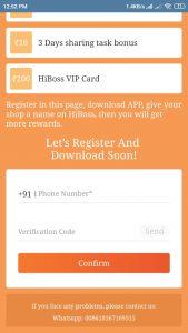 HiBoss Free PayTM Cash Apps