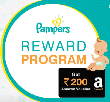 Get Free Rs.200 Amazon Voucher from BabyDestination Pampers Review