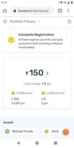 Kuvera Free Gold Referral Code