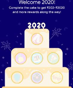 Google Pay 2020 - Cake Offer
