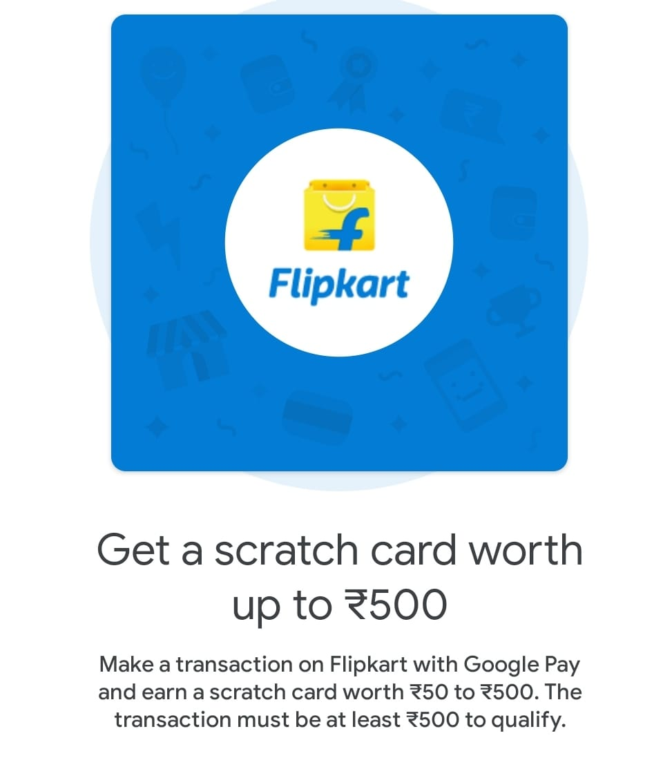 Flipkart Google Pay Offer
