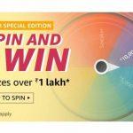 Amazon Spin Win