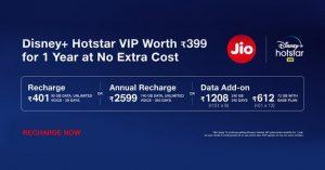 FreeDisney+ Hotstar VIP Subscription