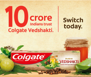 Free Colgate Vedshakti Toothpaste