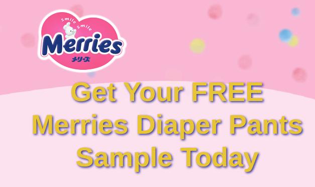 Free Sample Merries Diaper Pants