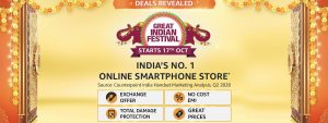 Amazon Great Indian Sale Smartphone Deals
