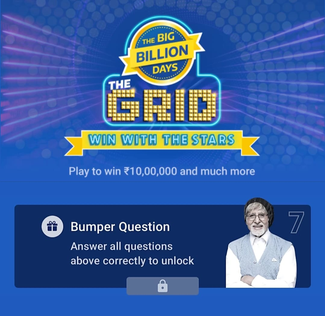 The Grid Big Billion Day Quiz