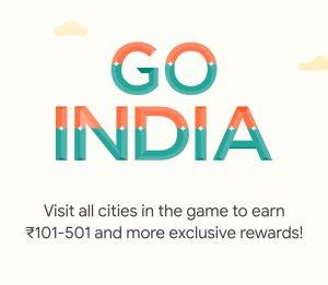 Google Pay Go India Free City Tickets KM