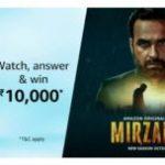 Amazon Mirzapur Quiz Answers