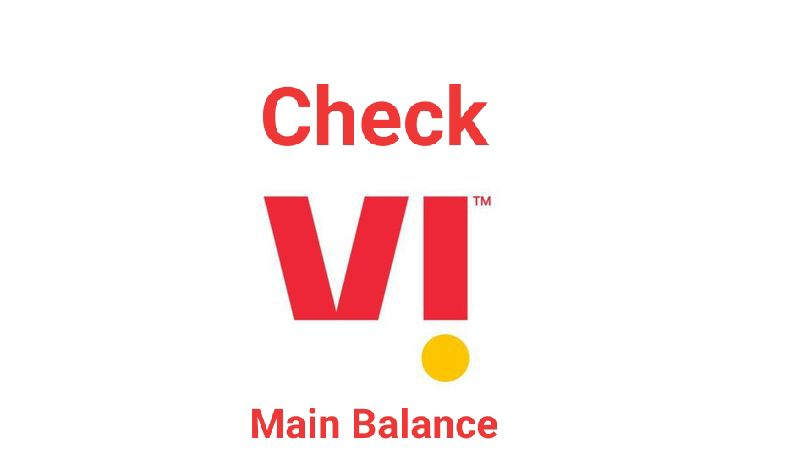 How to Check Vi Main Balance with USSD Codes