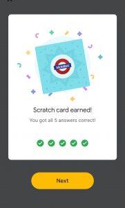 Google pay go India Mumbai Event Answers