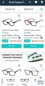 Lenskart Free Eyeglasses Corporate Trial Offer