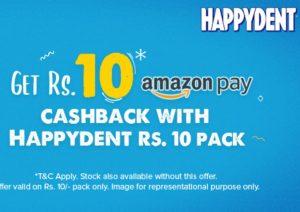 Amazon Happydent Offer