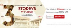 BookMyShow Free Tickets – Get 100% Off on 3 Storeys Movie Tickets