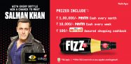 Paytm Appy Fizz Bigboss Offer – Get Rs 100 Cashback on Shopping From Paytm Mall