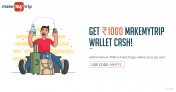 Freecharge Add Money Offer –  Add Rs.500 and Get Rs.1000 MakeMyTrip Cash