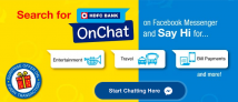 (*Live Again*)HDFC Bank Onchat Offer- Get Rs.50 Cashback in Rs.100 Recharge