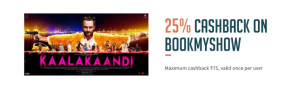 Freecharge Bookmyshow Offer – Get Rs.75 off On Movie Tickets