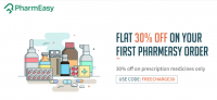 Freecharge Pharmeasy Offer – Get flat 30 % off on your First Medicine order through Freecharge