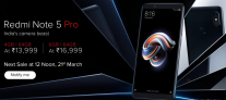 Redmi Note 5 Pro Next Sale Date and Time on Flipkart and Mi Official Site