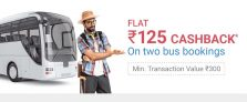 PhonePe Bus Ticket Offer – Get Rs.125 Cashback on Bus Booking of Rs.300
