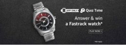 (Answers Added) Amazon Fastrack Quiz Answers