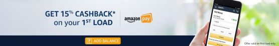 (updated)Amazon -Load Balance and Get Cashback upto Rs.150